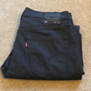 Levi's 541 dark grey jeans